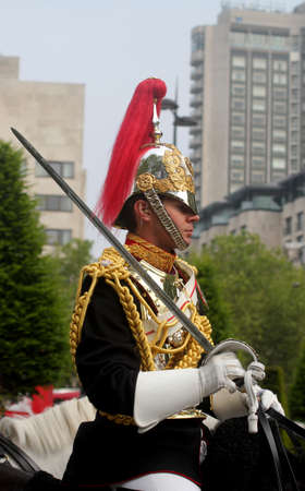 Trooping of The Colour London England
