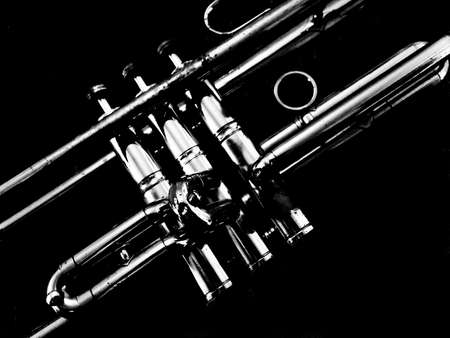 Abstract Trumpet Scene Stok Fotoğraf