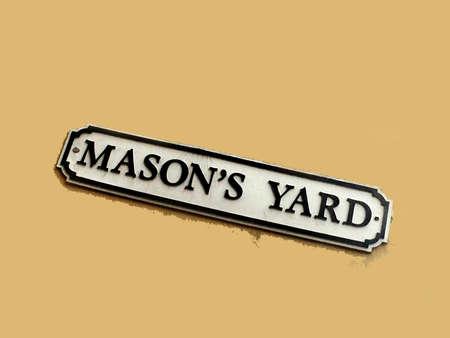 wimbledon: Masons Yard Street Scene Wimbledon London