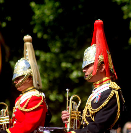 The Household Cavalry Band London England