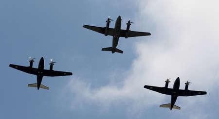 London England 17th June 2017  Flypast over Buckingham Palace