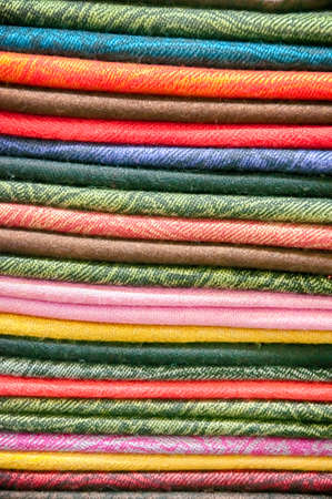desgn: stack of fabrics