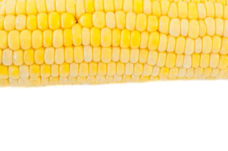 panicle: macro texture of corn panicle