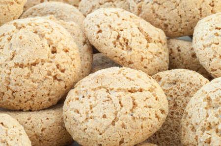 triglycerides: hermoso fondo macro de cookies de macarr�n Foto de archivo