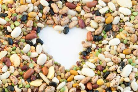 corazon roto: hermosa macro de color sopa pulso italiano Foto de archivo