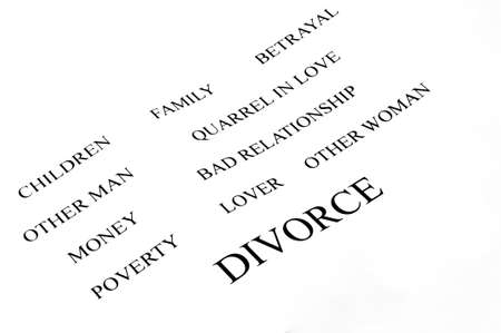 conceptual background of divorce and its problems photo