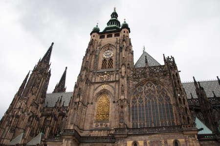 vitus: beautiful details of Saint Vitus Cathedral