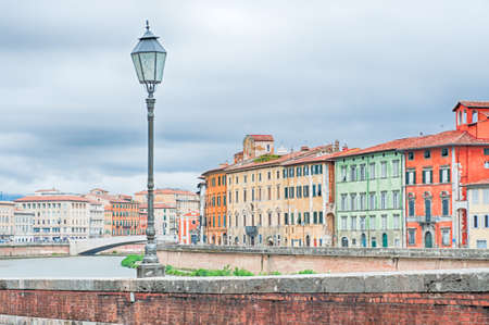 wonderful and traditional Pisa, Italy