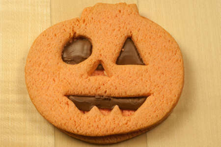 beautiful halloween tasty cookies