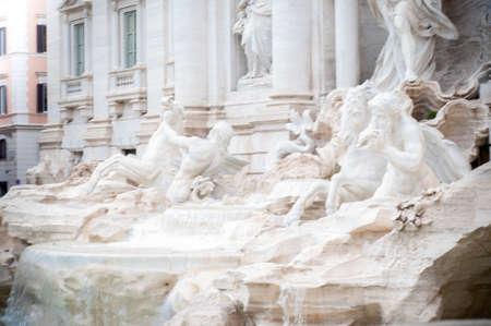 beautiful trevi fountain 版權商用圖片