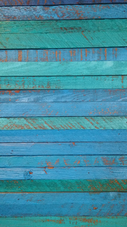 Teal and Blue wooden paneling background