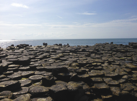 Giant's Causeway in Ierland