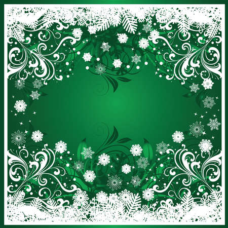 Christmas decoration background, greeting card Stock Vector - 5742987