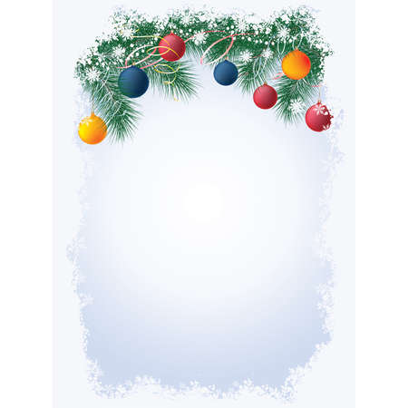 Christmas background , vector  Vector