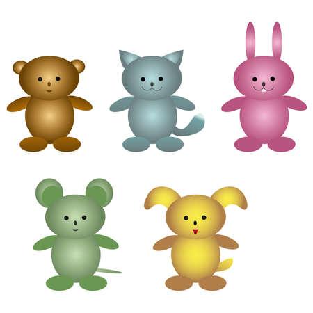 plush: Children plush toys.