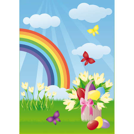 Easter card Stock Vector - 6546108