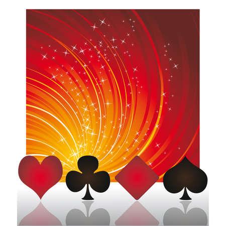 joker playing card: Casino Poker background