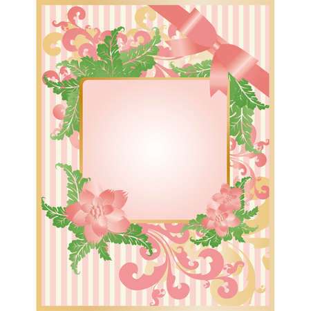 Wedding greeting card Vector