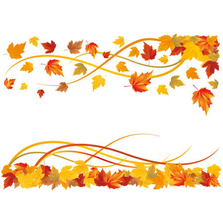 Autumn wallpaper. Stock Vector - 7474734
