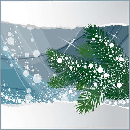 noelle: Winter card,  illustration