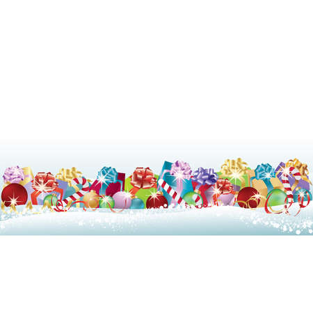 happy new year banner: New year greeting banner. vector illustration