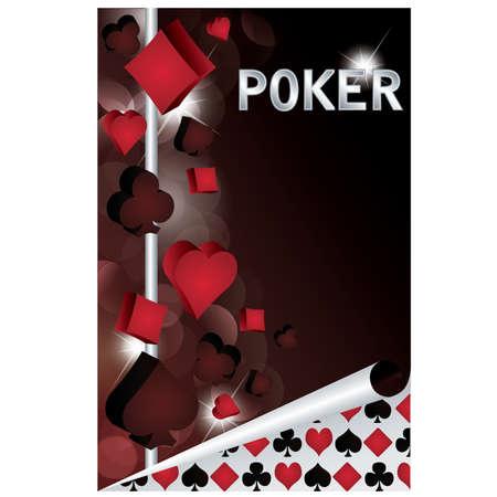 Poker design banner , vector illustration Vector