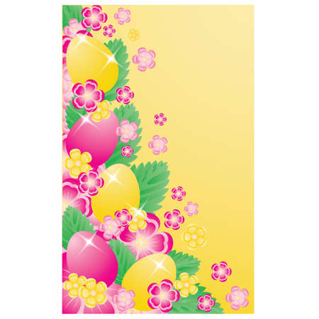 Easter banner. vector illustration Vector