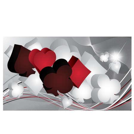 gamble: Casino Poker banner, illustration
