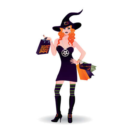 bewitched: Halloween shopping