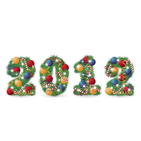 2012 New year banner. vector illustration Stock Vector - 10521280