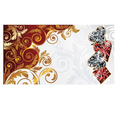 Poker banner Vector