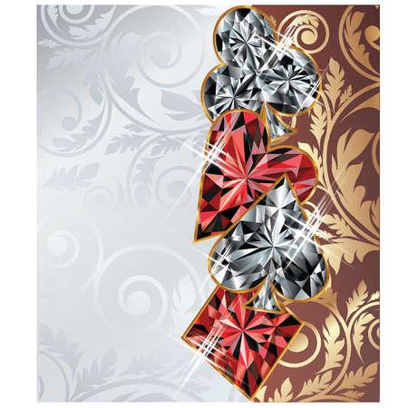 gambler: Casino banner Illustration