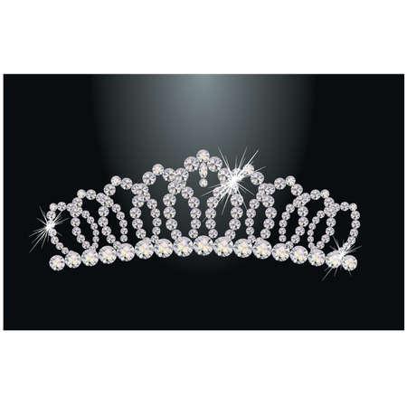 Diamond princess diadem
