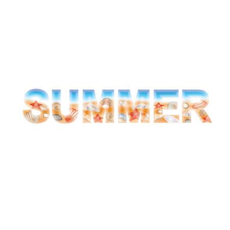 Summer banner, vector illustration Stock Vector - 13656726