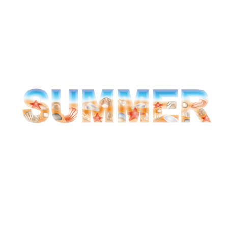 Summer banner, vector illustration Stock Vector - 13656726