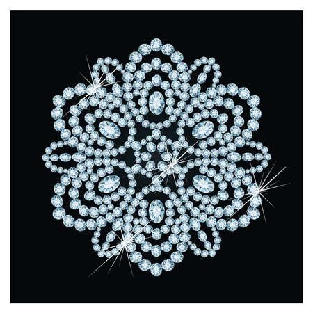 귀한: 다이아몬드 크리스마스 눈송이, 그림