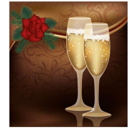 Invitation love card Stock Vector - 17335675