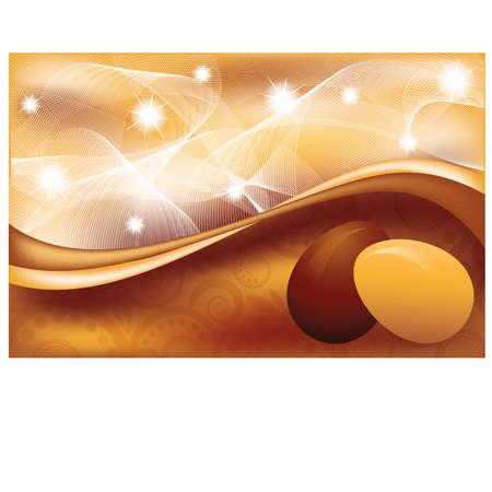 pasqua: Easter greeting banner  vector illustration Illustration