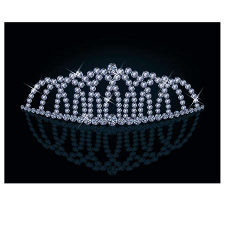 Diamond princess diadem Stock Vector - 18384024