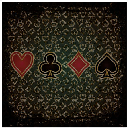 Abstract Poker wallpaper illustration  Vector
