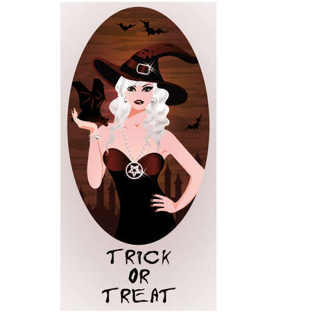 provocative: Trick or Treat Halloween card