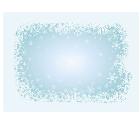 Winter christmas background, vector illustration