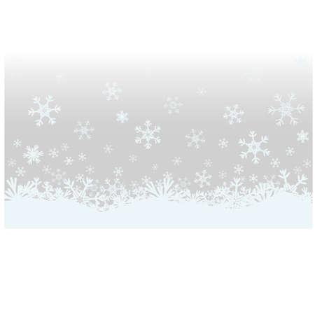 Winter Kerst banner, vector illustratie