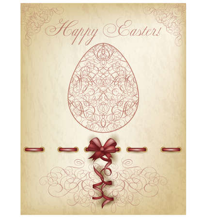 Happy Easter background illustration Vector