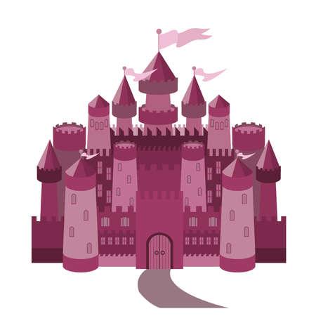 Fairy Tale magic castle