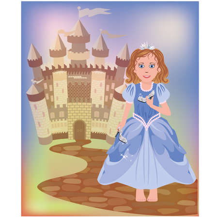 toy story: Beautiful little princess Cinderella