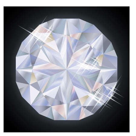 scrap: Royalty diamond, vector illustration