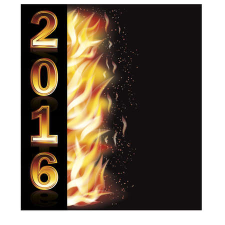 Hot new 2016 year banner