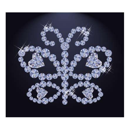 adorn: Diamond butterfly