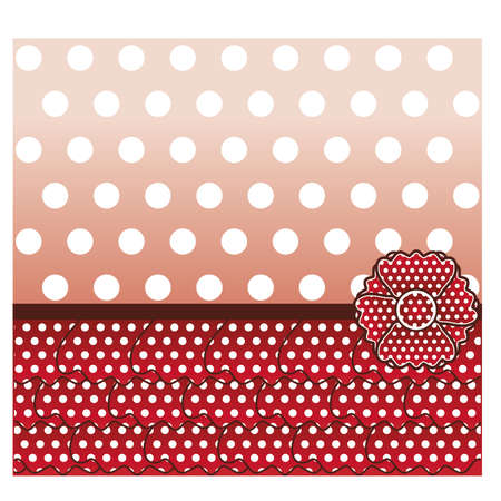 Flamenco style card, vector illustration Illustration